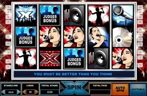 x factor casino 50 free spins