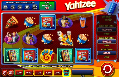 Yahtzee free slot