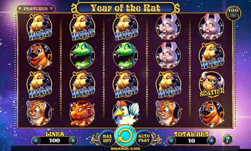 Year of the Rat free slot