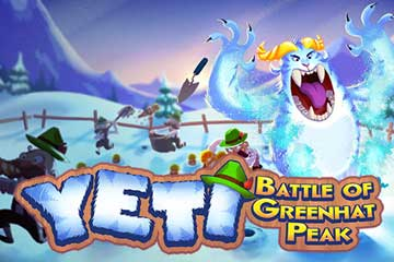 Yeti Battle of Greenhat Peak slot Thunderkick