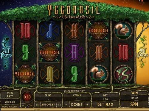 Yggdrasil free slot