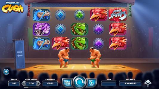 Yokozuna Clash free slot