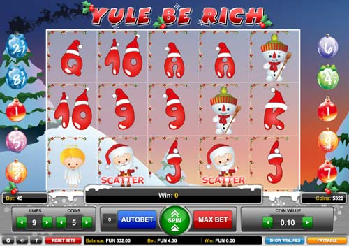 Yule Be Rich free slot