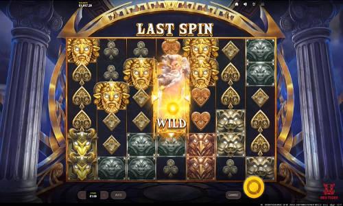 Zeus Lightning Power Reels casino slot