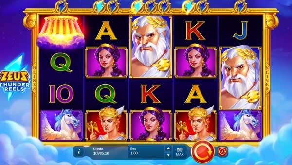 Zeus Thunder Reels free slot