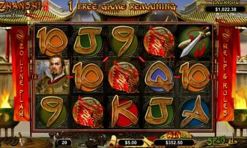 Zhanshi free slot