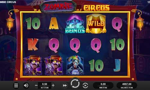 Zombie Circus free slot