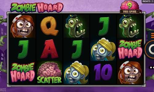 Zombie Hoard free slot