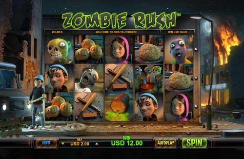 Zombie Rush free slot