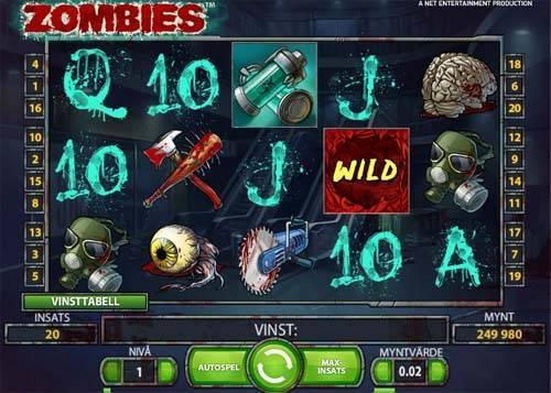 Zombies free slot
