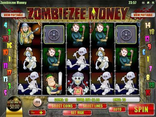 Zombiezee Money free slot