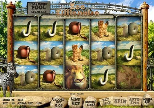 Zoo Zillionaire free slot